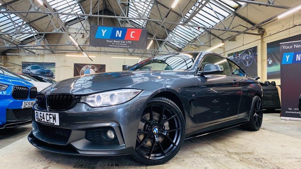 USED 2015 64 BMW 4 SERIES 3.0 435d M Sport xDrive 2dr PERFORMANCEKIT+20S+SUNROOF!
