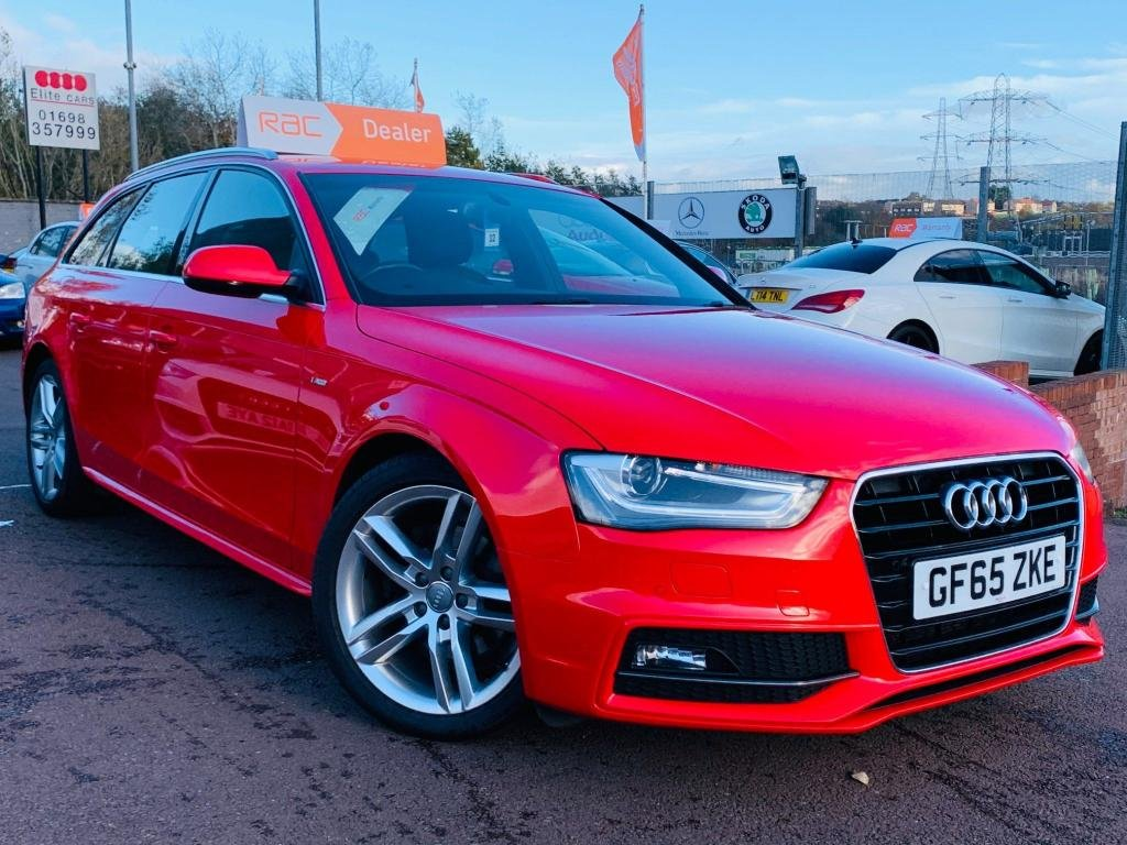 USED 2015 65 AUDI A4 2.0 TDI S line Avant 5dr (Nav) Drive away today..