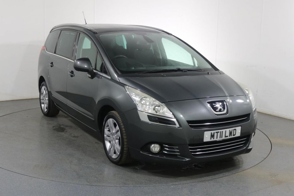 USED 2011 11 PEUGEOT 5008 1.6 HDI EXCLUSIVE 5d 112 BHP ONE OWNER with 8 Stamp SERVICE HISTORY