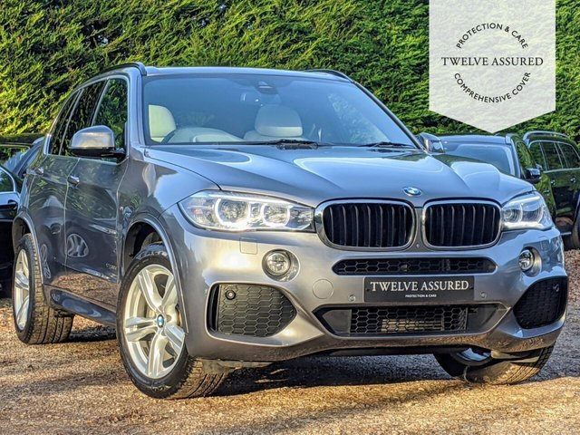 USED 2014 64 BMW X5 3.0 XDRIVE30D M SPORT 5d AUTO 255 BHP (PANORAMIC ROOF)