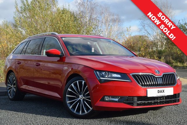 USED 2018 18 SKODA SUPERB 2.0 LAURIN AND KLEMENT TDI DSG 5d 188 BHP 1 OWNER! FULL SKODA SERVICE HISTORY! HUGE SPEC! SAT NAV!