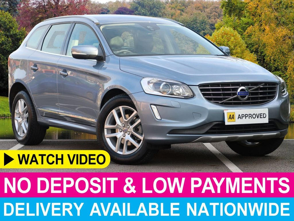 USED 2016 16 VOLVO XC60 2.0 D4 SE LUX NAV Auto Geartronic 5dr Leather Seats Sat Nav Cruise