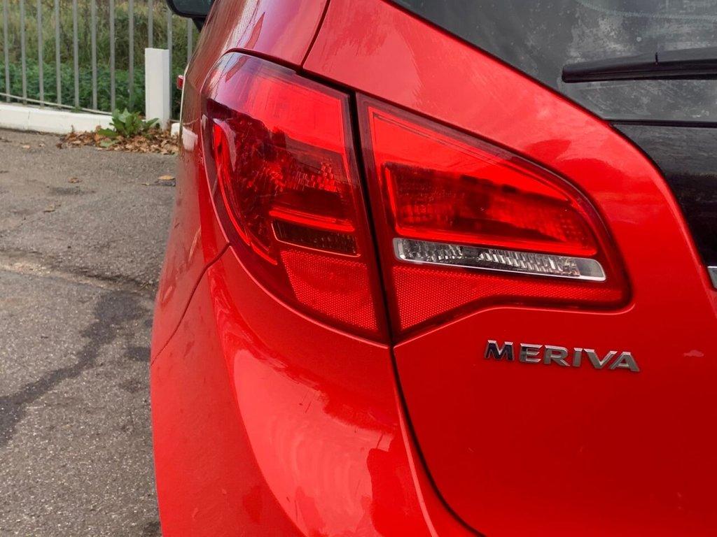USED 2014 64 VAUXHALL MERIVA 1.4 EXCLUSIV AC 5d 118 BHP