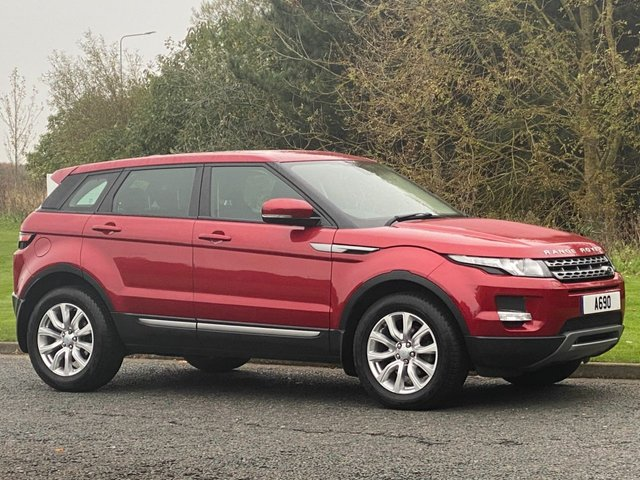 USED 2013 63 LAND ROVER RANGE ROVER EVOQUE 2.2 SD4 PURE TECH 5d 190 BHP 4 WHEEL DRIVE AUTO Navigation Model
