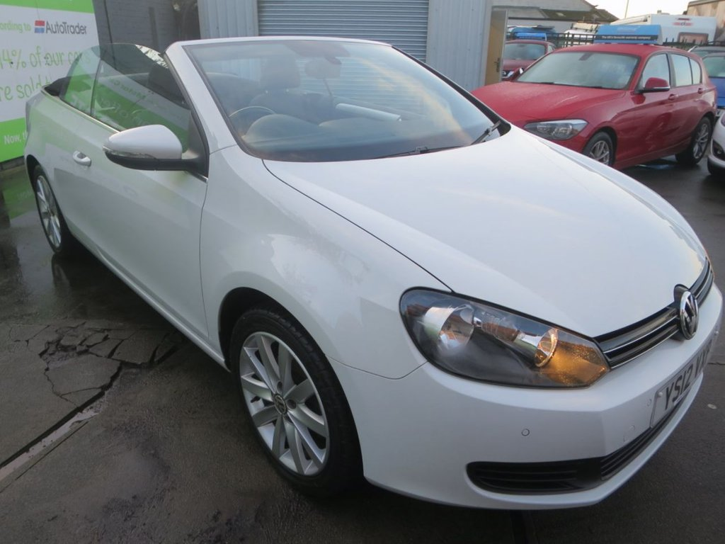 USED 2012 12 VOLKSWAGEN GOLF 1.6 SE TDI BLUEMOTION TECHNOLOGY 2d 104 BHP 10 STAMP FSH + LOW RATE APRs