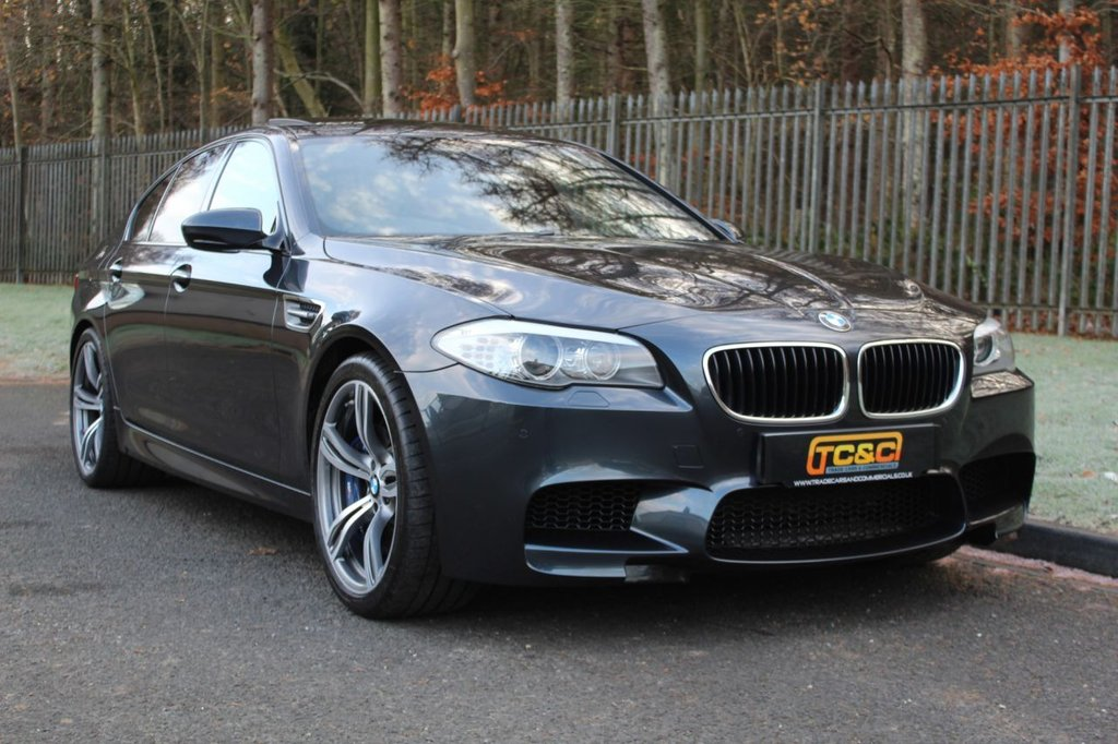 USED 2012 BMW M5 M5 4dr DCT A VERY GOOD EXAMPLE WITH BMW SERVICE HISTORY AND AN EXCELLENT SPECIFICATION!!!
