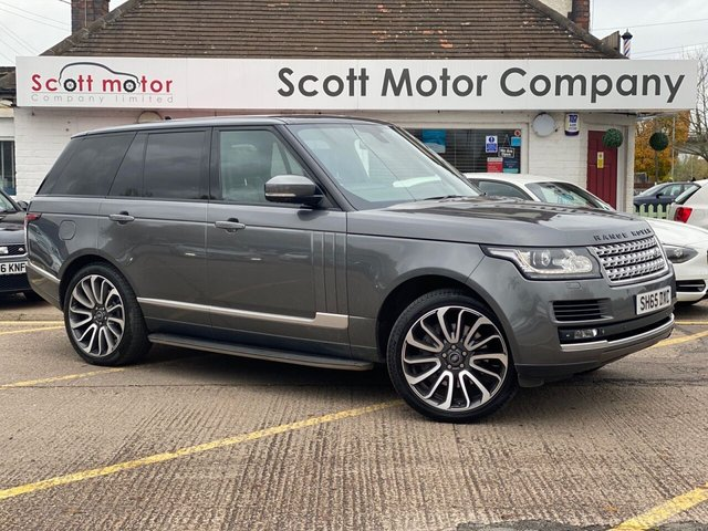 USED 2015 65 LAND ROVER RANGE ROVER 4.4 SDV8 AUTOBIOGRAPHY 5d 339 BHP
