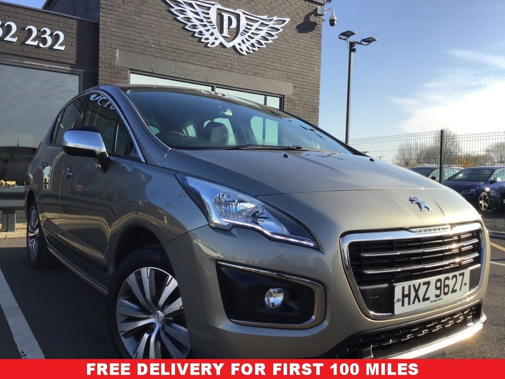 USED 2015 15 PEUGEOT 3008 1.6 BLUE HDI S/S ACTIVE 5d 120 BHP (2015 REG) *FULL VALET, MOT, SERVICE AND WARRANTY INC - 7 DAYS MONEY BACK GUARANTEE - FREE DELIVERY - FINANCE RATES FROM 5.9%*