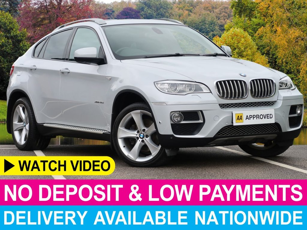 "USED 2013 13 BMW X6 3.0 xDrive 40d Step Auto Dynamic Sport Coupe Nav 20"" Alloys 360 Cam Dynamic"
