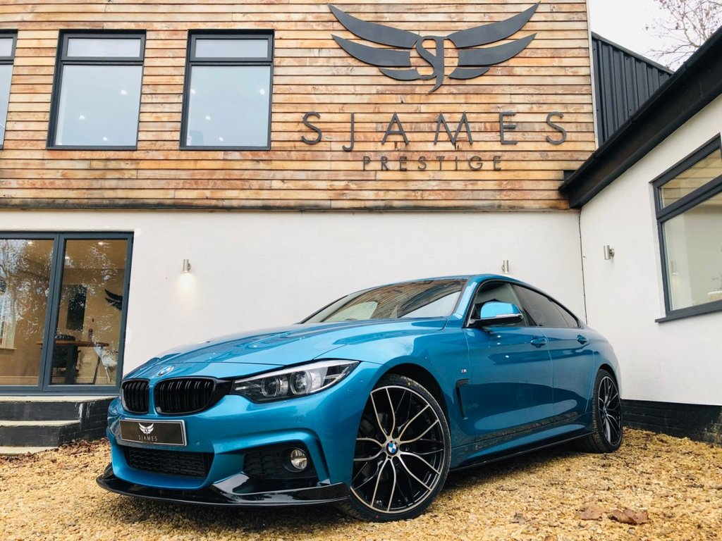 USED 2018 18 BMW 4 SERIES 2.0 420D M SPORT GRAN COUPE 4d AUTO 188 BHP