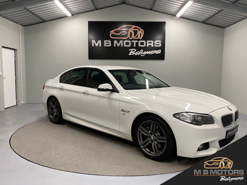 USED 2013 BMW 5 SERIES M SPORT 525D 4d 215 BHP **OVER £2,000 OF FACTORY OPTIONS**