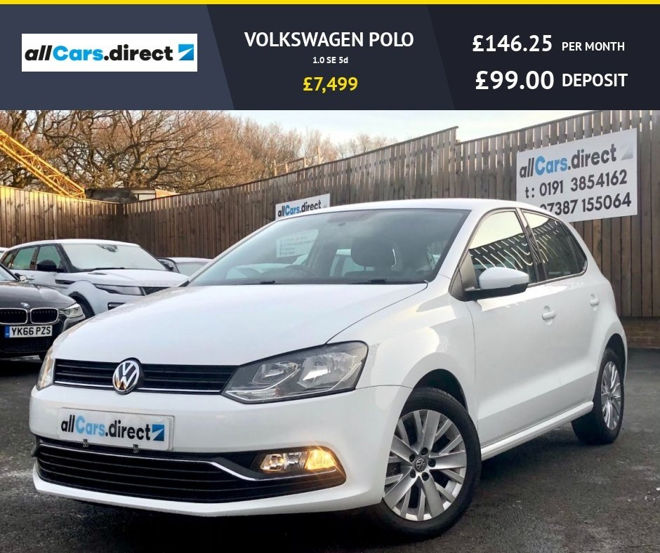 USED 2014 64 VOLKSWAGEN POLO 1.0 SE 5d