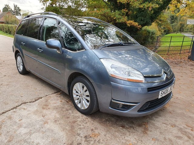 2008 08 CITROEN C4 GRAND PICASSO 2.0 EXCLUSIVE HDI EGS 5d 135 BHP