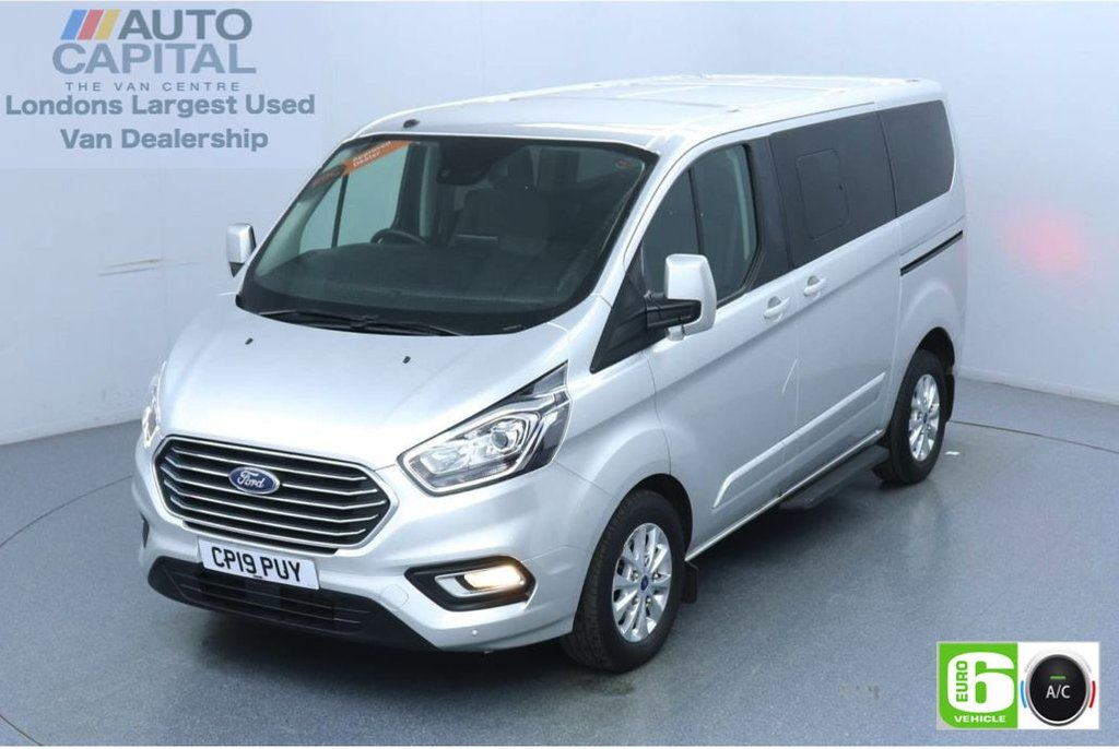 USED 2019 19 FORD TOURNEO CUSTOM 2.0 320 Titanium L1 Auto 130 BHP 8 Seats Minibus Low Emission Finance Available Online | Automatic | 8 Seats