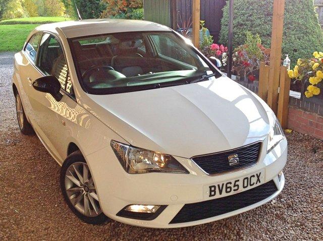 2015 65 SEAT IBIZA 1.4 TOCA 3d 85 BHP