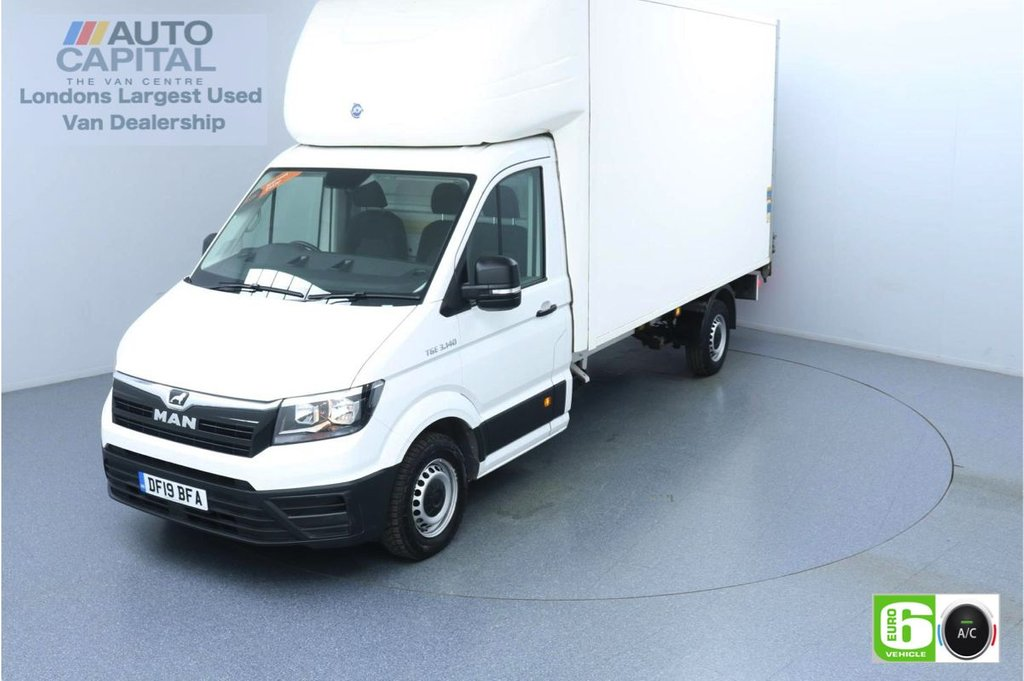 USED 2019 19 MAN TGE 2.0 FWD LWB 140 BHP Low Emission Luton Van Air Con | Tail Lift Fitted | Auto Start-Stop system