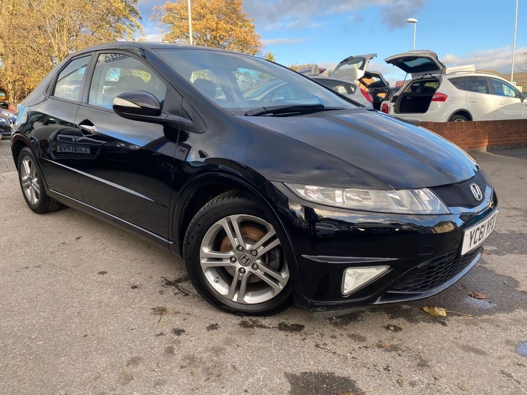 USED 2011 61 HONDA CIVIC 1.3 I-VTEC SI 5d 98 BHP