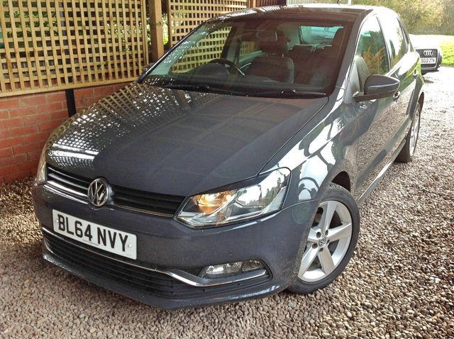 2014 64 VOLKSWAGEN POLO 1.4 SEL TDI BLUEMOTION 5d 89 BHP