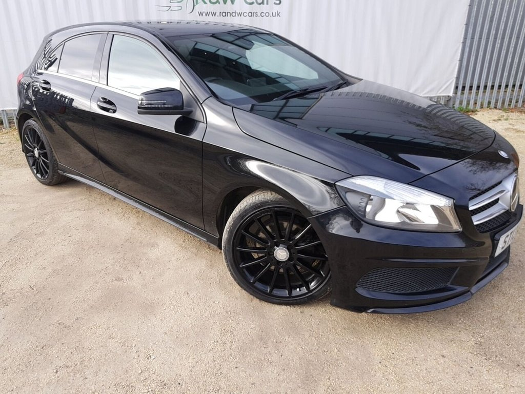 USED 2013 13 MERCEDES-BENZ A-CLASS 1.8 A180 CDI BLUEEFFICIENCY AMG SPORT 5d 109 BHP **LIVE VIDEO WALK AROUND AVAILABLE**