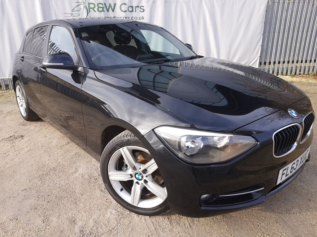 USED 2013 63 BMW 1 SERIES 2.0 116D SPORT 5d 114 BHP **LIVE VIDEO WALK AROUND AVAILABLE**