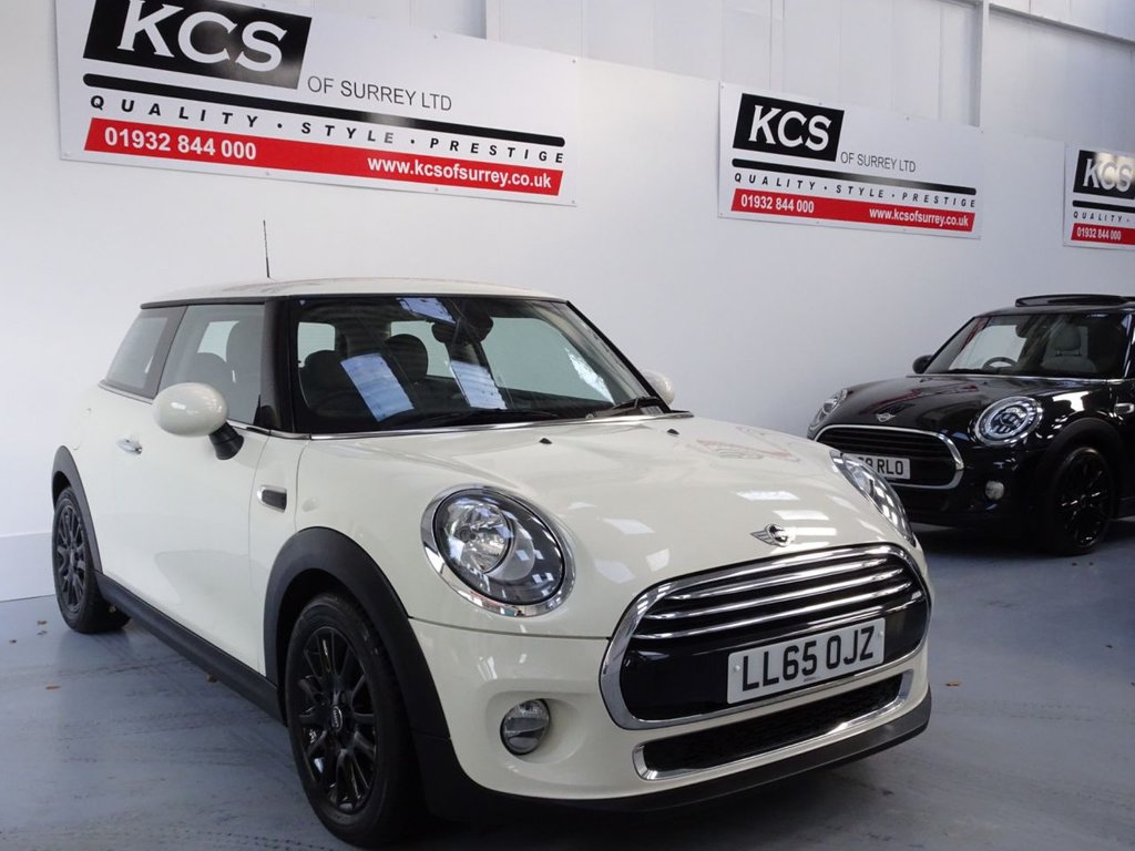 USED 2015 65 MINI HATCH COOPER 1.5 COOPER 3d 134 BHP CHILI PACK - MEDIA XL NAV