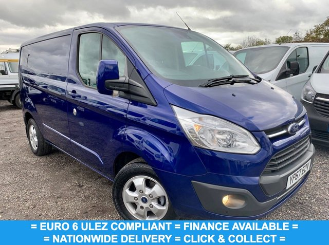 USED 2017 67 FORD TRANSIT CUSTOM 2.0 270 LIMITED LR P/V 129 BHP