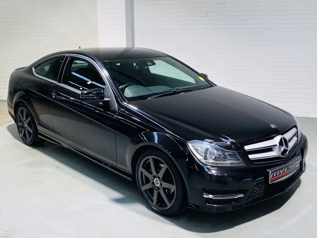 USED 2015 64 MERCEDES-BENZ C-CLASS 2.1 C250 CDI AMG SPORT EDITION 2d 202 BHP AMG Pack, Leather, Xenon Headlights, Parktronic