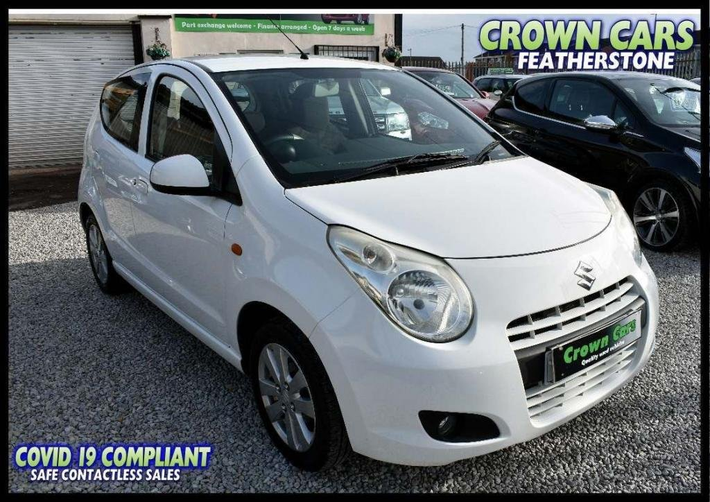USED 2010 60 SUZUKI ALTO 1.0 SZ4 5dr FREE FINANCE ELIGIBILITY CHECK