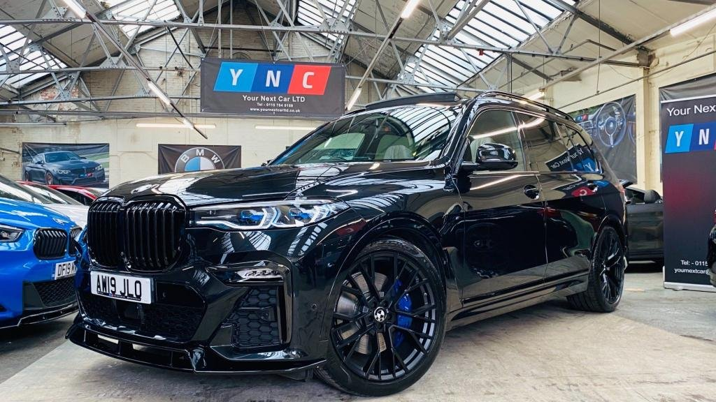 USED 2019 19 BMW X7 3.0 30d M Sport Auto xDrive (s/s) 5dr STEALTHEDITION+22S+SKYLOUNGE