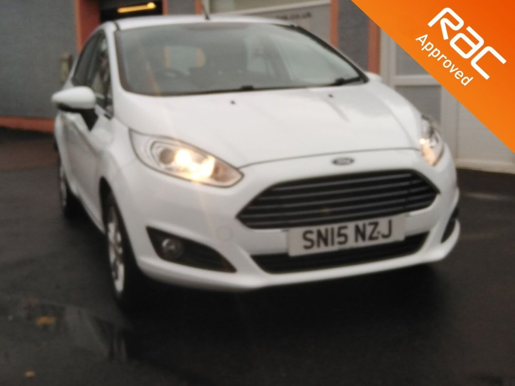 """USED 2015 15 FORD FIESTA 1.2 ZETEC 5d 81 BHP 1 owner, 15"""" Alloys, Bluetooth, Air Conditioning, Remote Central Locking, MP3, USB"""