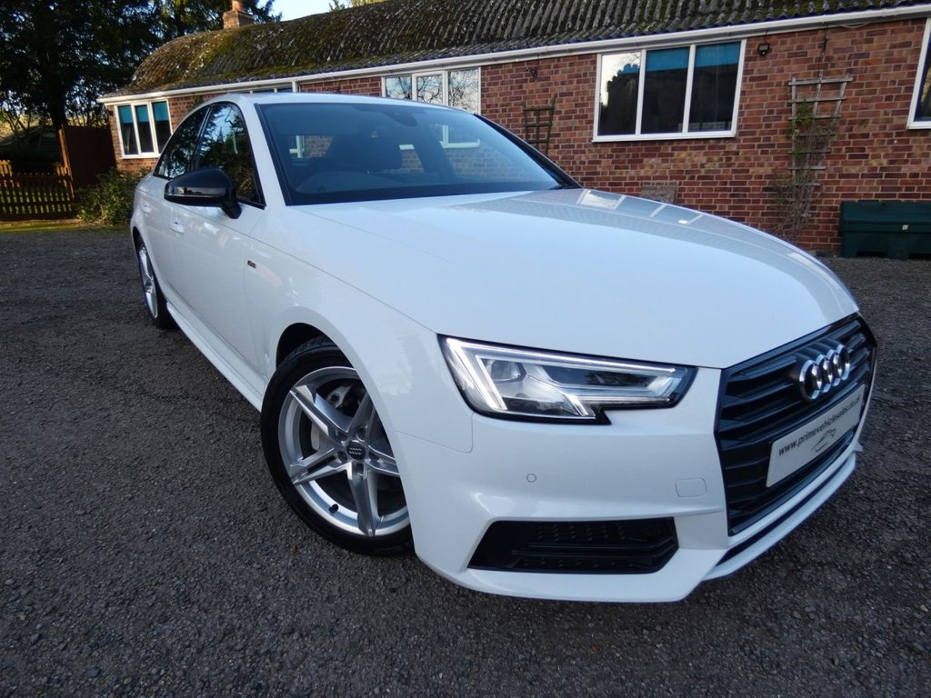 USED 2017 17 AUDI A4 2.0 TDI 190 Ultra S-Line Black Pack S-Tronic 4dr