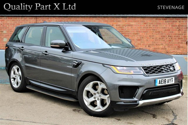 USED 2018 18 LAND ROVER RANGE ROVER SPORT 2.0 P400e 13.1kWh HSE Auto 4WD (s/s) 5dr SATNAV,BLUETOOTH,XENON,HYBRID