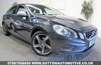 USED 2012 62 VOLVO S60 1.6 D2 R-DESIGN 4d 113 BHP