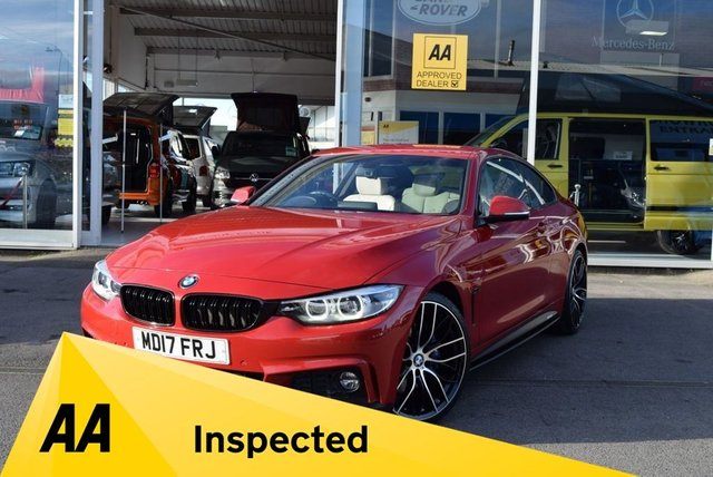 USED 2017 17 BMW 4 SERIES 2.0 420I M SPORT 2d 181 BHP FINANCE TODAY WITH NO DEPOSIT - SERVICE HISTORY