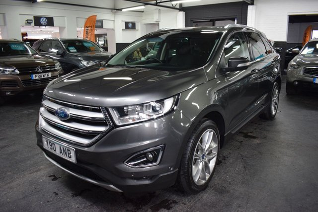 USED 2016 16 FORD EDGE 2.0 TITANIUM TDCI 5d 177 BHP 4X4  STUNNING CONDITION - GREAT VALUE - 4X4 - TITANIUM - 20 INCH ALLOYS - PARK ASSIST - COLLISION ALERT SAT NAV WITH SONY STEREO - HEATED SEATS
