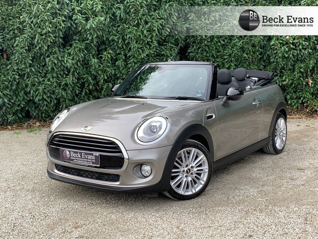 USED 2017 67 MINI CONVERTIBLE 1.5 COOPER 2d 134 BHP