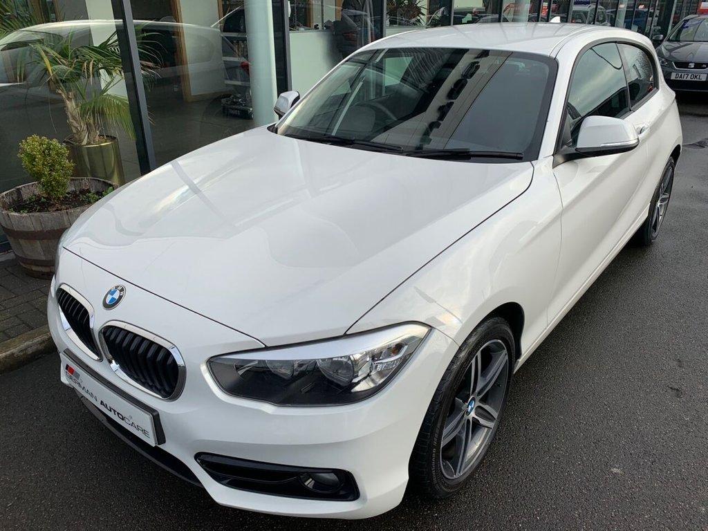 USED 2016 16 BMW 1 SERIES 2016/16 - 1.5 116D SPORT 3d 114 BHP SAT NAV  �£20 ROAD TAX  72.4 MPG