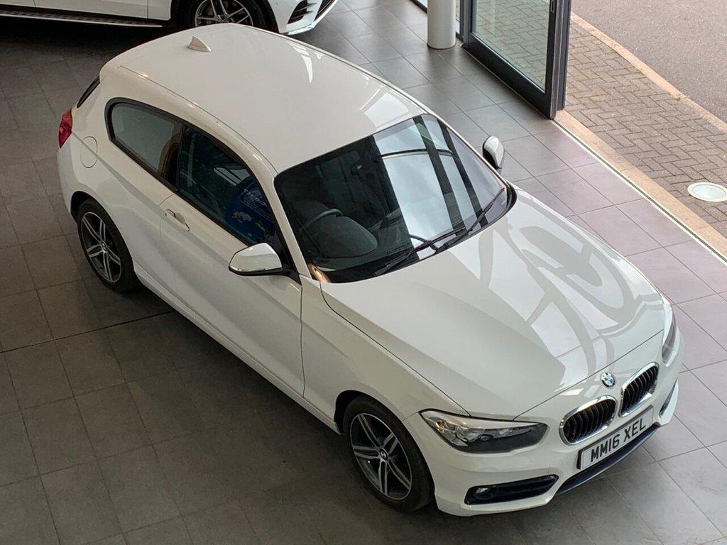 USED 2016 16 BMW 1 SERIES 2016/16 - 1.5 116D SPORT 3d +114 BHP + SAT NAV + �£20 ROAD TAX + 72.4 MPG
