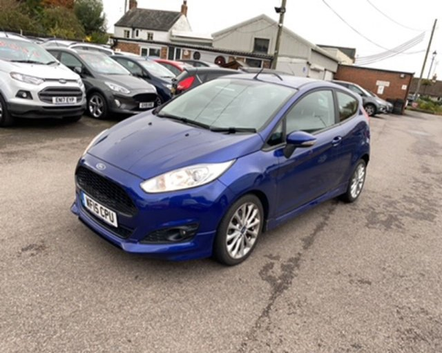 2015 15 FORD FIESTA 1.0 ZETEC S ECOBOOST (125 PS) 3DR