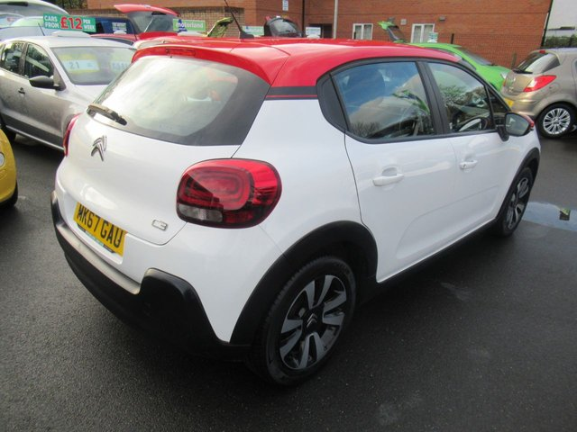 USED 2017 67 CITROEN C3 1.2 PURETECH FEEL 5d 68 BHP ** 1 OWNER FROM BRAND NEW *