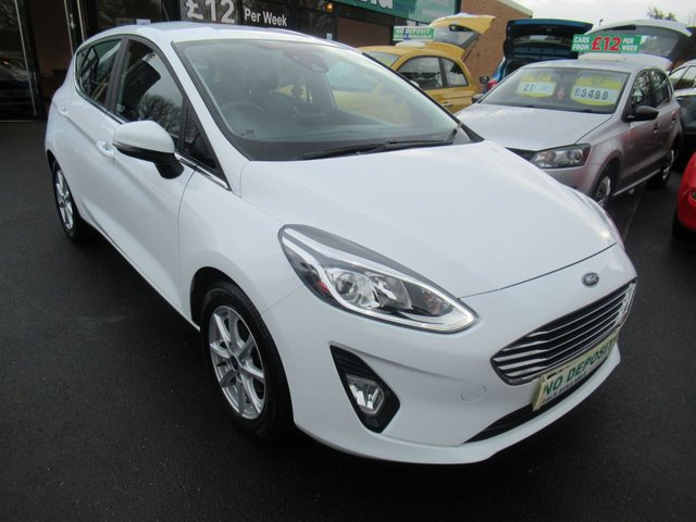 USED 2017 67 FORD FIESTA 1.1 ZETEC 5d 85 BHP **CLICK AND COLLECT ON YOUR NEXT CAR**