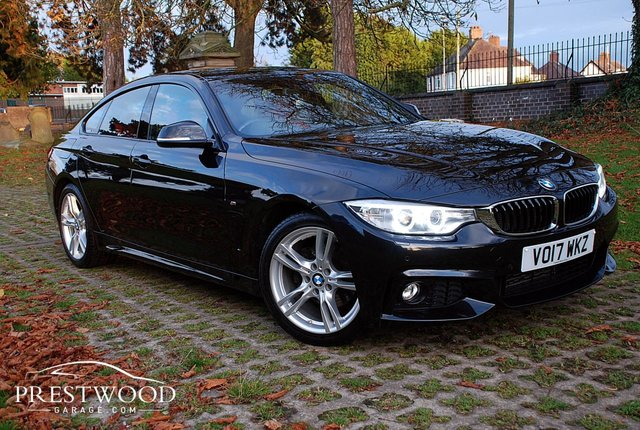 2017 17 BMW 4 SERIES 420d M SPORT [190] GRAN COUPE AUTO [PRO MEDIA]