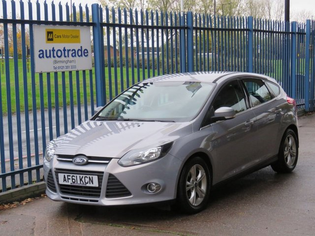 USED 2011 61 FORD FOCUS 1.6 ZETEC TDCI 5d 113 BHP 8 SERVICE STAMPS, AIR CON, DAB, BLUETOOTH