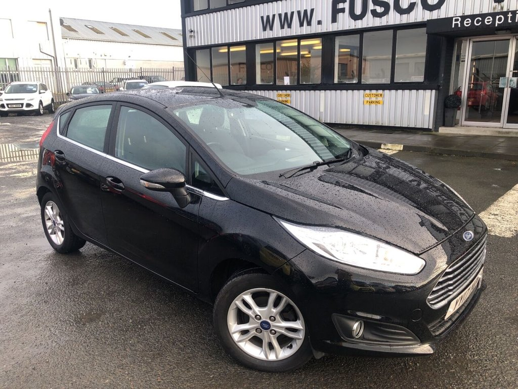 USED 2017 17 FORD FIESTA 1.2 ZETEC 5d 81 BHP £169 a month, T&Cs apply.