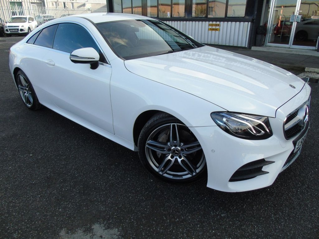 USED 2018 68 MERCEDES-BENZ E-CLASS 2.0 E 220 D AMG LINE 2d 192 BHP £340 a month, T&Cs apply.