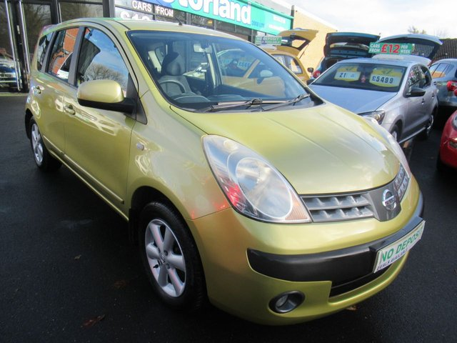 USED 2007 07 NISSAN NOTE 1.6 SE 5d 109 BHP **JUST ARRIVED... 5 DOOR**