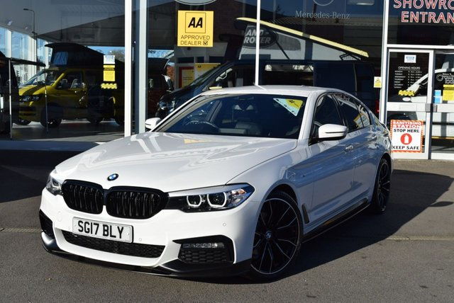 USED 2017 17 BMW 5 SERIES 2.0 520D XDRIVE M SPORT 4d 188 BHP FINANCE TODAY WITH NO DEPOSIT - BMW SERVICE HISTORY