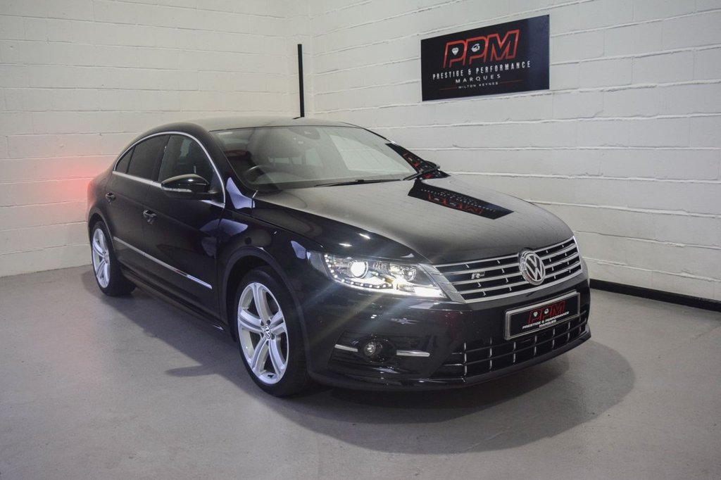 USED 2017 17 VOLKSWAGEN CC 2.0 R LINE TDI BLUEMOTION TECHNOLOGY DSG 4d 182 BHP
