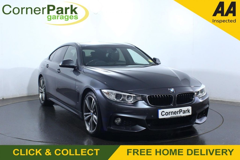 USED 2016 65 BMW 4 SERIES GRAN COUPE 2.0 420D M SPORT GRAN COUPE 4d 188 BHP COUPE