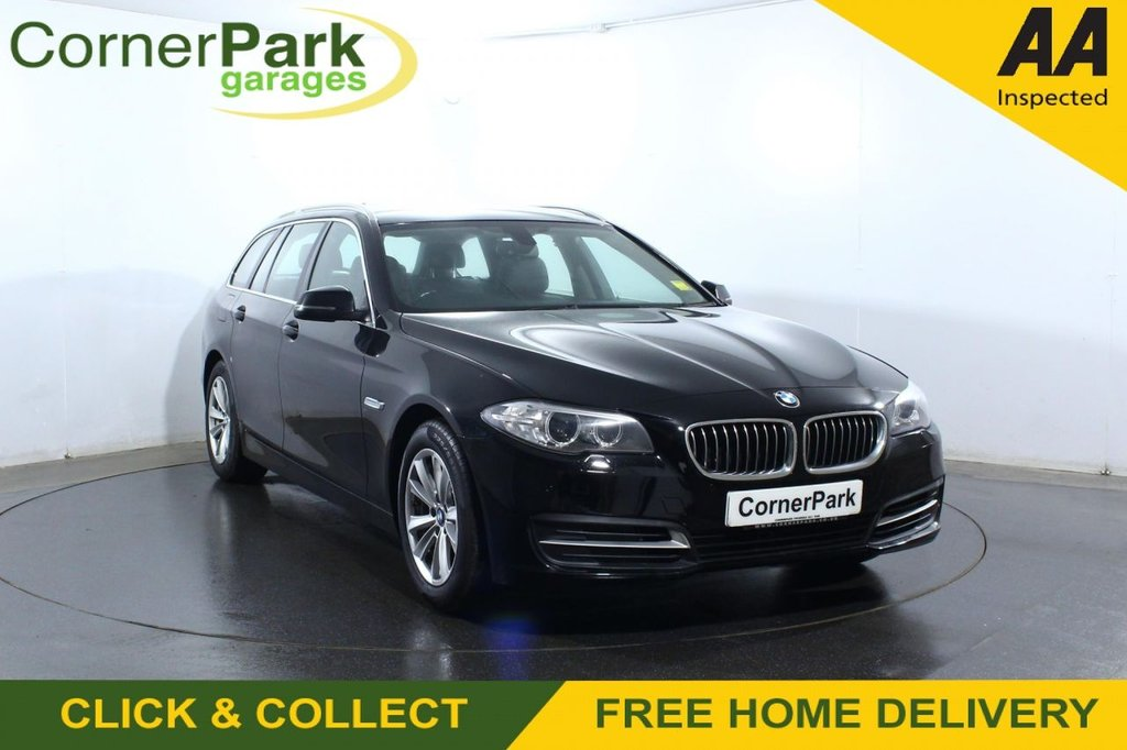 USED 2016 66 BMW 5 SERIES 2.0 520D SE TOURING 5d 188 BHP